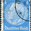 Postage stamp printed in Germany (German Reich), shows the 2nd President of Germany, Paul von Hindenburg — Stock Photo #44722643