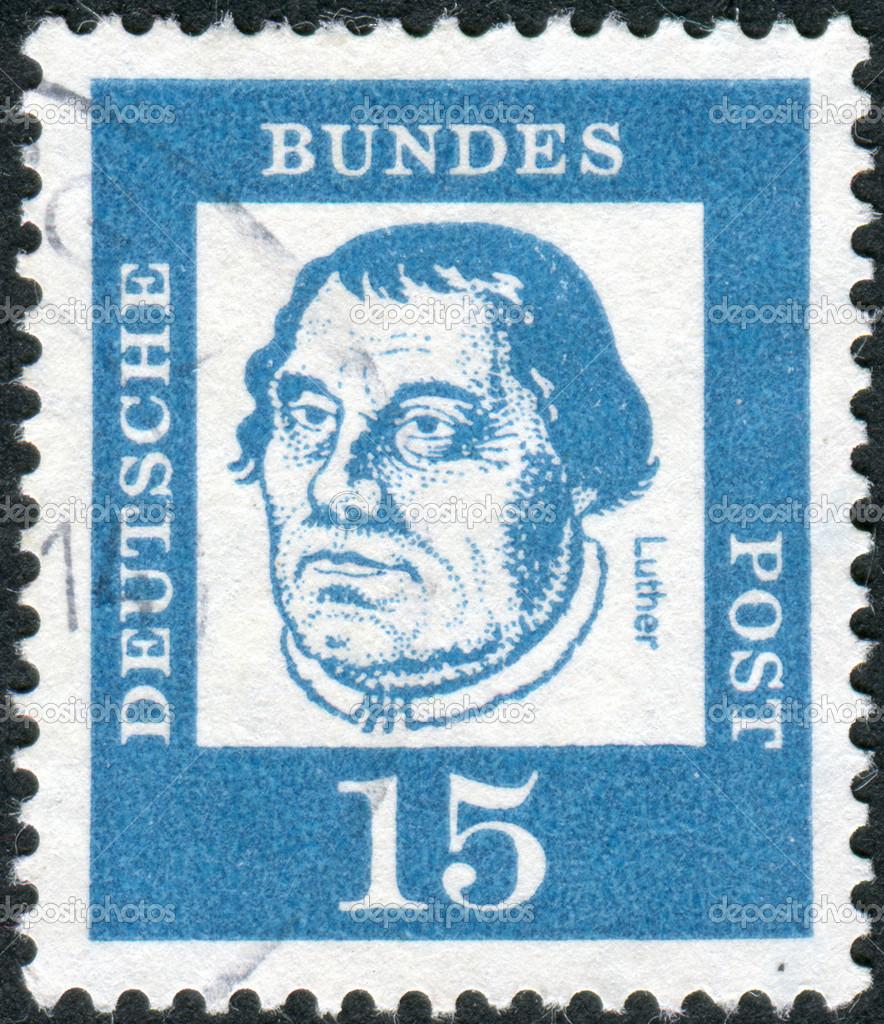 Почтовая марка имени святого мартина немецкая 1867г