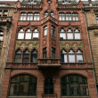 Постер, плакат: Friedrichstrasse Facade of an old trading house architects Ferdinand Wendelstadt and Max Welsch 1899 1900