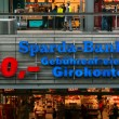 Emblem Sparda-Bank. Sparda-Bank - the 12th largest bank in Germany with a branch office in Austria — Stok fotoğraf #45097073