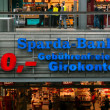Emblem Sparda-Bank. Sparda-Bank - the 12th largest bank in Germany with a branch office in Austria — Stock Photo