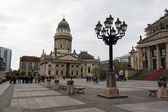 German Cathedral and the Konzerthaus on Gendarmenmarkt — Stockfoto