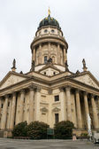 French Cathedral on Gendarmenmarkt — Foto de Stock