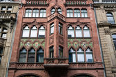 Berlin. Friedrichstrasse. Facade of an old trading house — Stock Photo
