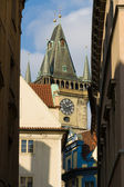 Prague. Old Town Hall Tower. — Stock Photo