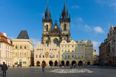 The Church of Mother of God in front of Tyn. The Old Town of Prague — Stock Photo