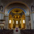 Interior of the Roman Catholic Church of St. Peter and St. Paul. Built in 1870, renovated in 1950. — Stock Photo #45805973
