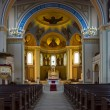 Interior of the Roman Catholic Church of St. Peter and St. Paul. Built in 1870, renovated in 1950. — Stock Photo #45806003