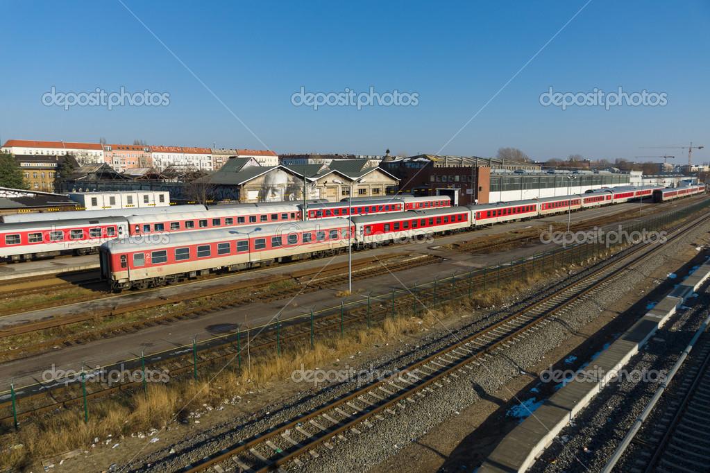 Railroad Depot Warschauer Strasse Stock Editorial Photo
