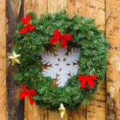 Christmas decoration. Background — Stock Photo