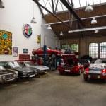 Restoration workshop of Italian cars — Stock Photo #48162875