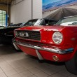 Постер, плакат: Ford Mustang and Dodge Charger