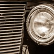 Постер, плакат: Headlamp of the Buick Hot Rod