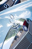 Hood ornament of car Mercedes-Benz — Foto de Stock