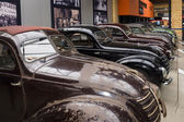 Various Oldtimer cars in row — Stock Photo