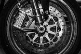 Motorcycle Norton Commando — Stock Photo
