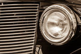 Headlamp of the Buick Hot Rod — Stock Photo