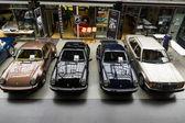 Porsche and Mercedes-Benz — Stock Photo