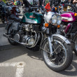 Постер, плакат: BERLIN GERMANY MAY 17 2014: Motorcycle 1200 Munch Mammoth TTS 27th Oldtimer Day Berlin Brandenburg