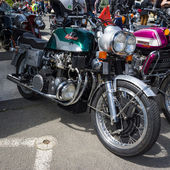 BERLIN, GERMANY - MAY 17, 2014: Motorcycle 1200 Munch Mammoth TTS. 27th Oldtimer Day Berlin - Brandenburg — Zdjęcie stockowe