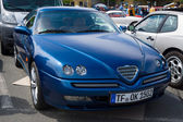 BERLIN, GERMANY - MAY 17, 2014: Sports coupe Alfa Romeo GTV V6 TB. 27th Oldtimer Day Berlin - Brandenburg — Stock Photo