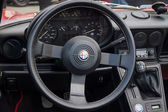 BERLIN, GERMANY - MAY 17, 2014: Cab of the roadster Alfa Romeo Spider (Third generation). 27th Oldtimer Day Berlin - Brandenburg — Stock Photo