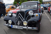 BERLIN, GERMANY - MAY 17, 2014: Mid-size luxury car Citroen Traction Avant. 27th Oldtimer Day Berlin - Brandenburg — Stock Photo