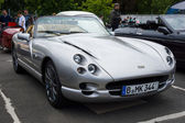 BERLIN, GERMANY - MAY 17, 2014: A two-seater convertible sports car TVR Chimaera. 27th Oldtimer Day Berlin - Brandenburg — Stock Photo