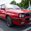 BERLIN, GERMANY - MAY 17, 2014: Compact executive car Lancia Delta HF Integrale. 27th Oldtimer Day Berlin - Brandenburg — Stock Photo