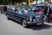 BERLIN, GERMANY - MAY 17, 2014: Executive car Mercedes Benz 220 Diesel (W115) Lang. 27th Oldtimer Day Berlin - Brandenburg — Stock Photo