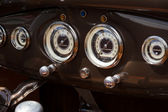 BERLIN, GERMANY - MAY 17, 2014: Oldtimer's dashboard's Ford Model A. 27th Oldtimer Day Berlin - Brandenburg — Stock Photo