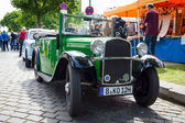BERLIN, GERMANY - MAY 17, 2014: City car BMW 3-20 (AM-4). 27th Oldtimer Day Berlin - Brandenburg — Stock Photo