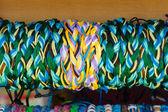Braided bracelets. Background — Stockfoto