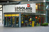 Legoland Discovery Centre in the Sony Center on Potsdamer Platz — Stock Photo