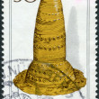 Postage stamp printed in Germany, Archaeological Heritage Issue, shows the Golden Hat, Schifferstadt, Bronze age — Stock Photo #51083561
