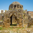 Ruins of the Church of St. George, the Byzantine era. Alanya Castle. Turkey — Stock Photo #51178141