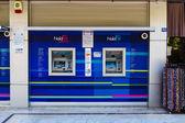 ATMs Finansbank. Finansbank - is the largest bank in Turkey — Stock Photo