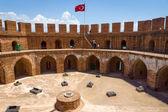 Κόκκινος Πύργος μέσα, alanya. Τουρκία. — Φωτογραφία Αρχείου