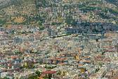Casas en los distritos centrales de alanya. turquía — Foto de Stock