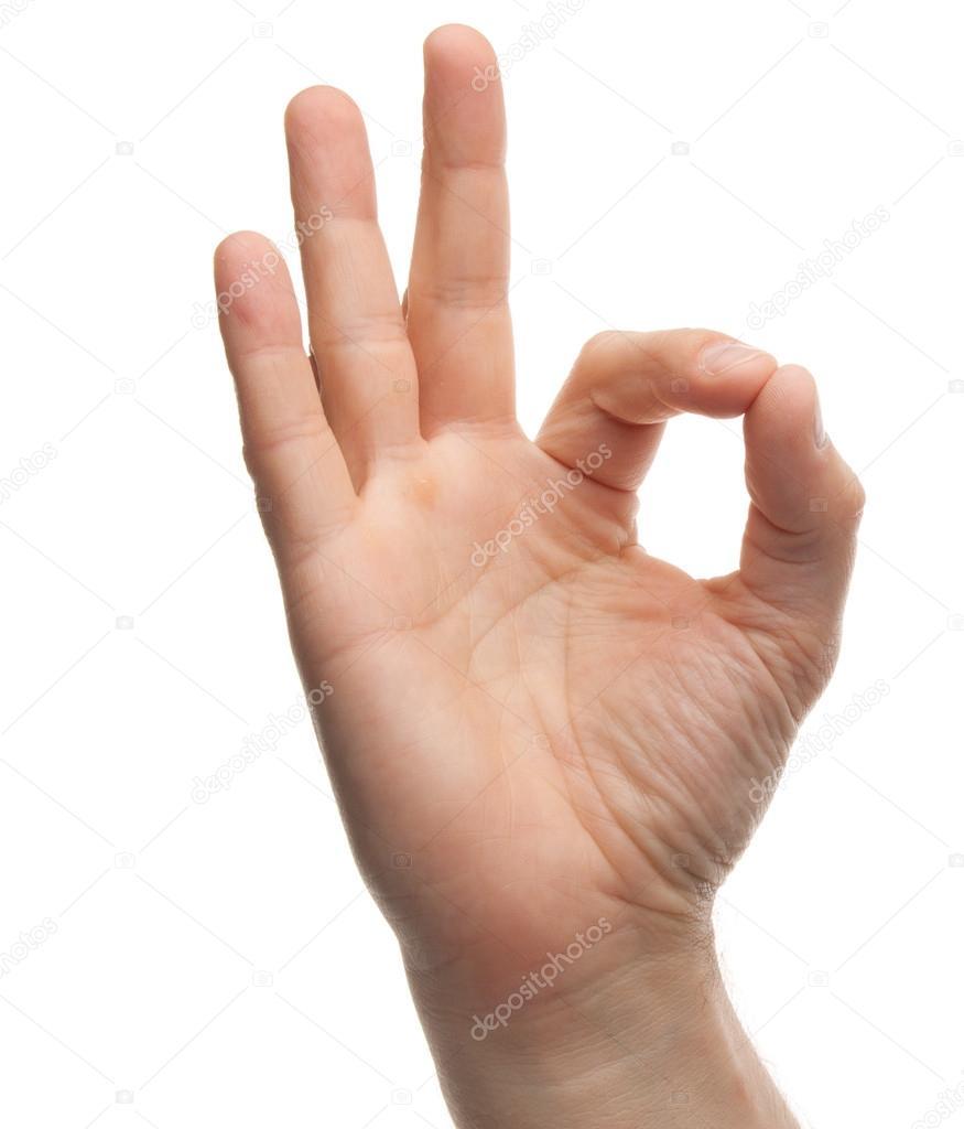 White Power Handzeichen