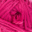 Close-up of Pink knitting yarn — Photo