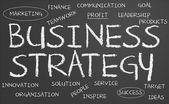 Tablica strategii firmy — Zdjęcie stockowe