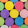 Stock Photo: Stacked colorful chalk sticks