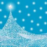 Silver Christmas tree design. Vector-Illustration. — Stock Vector #11963979
