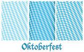 Set of Oktoberfest design background — Stock Vector