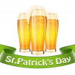 Stock Vector: Saint Patrick's Day banner