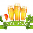 St.Patrick's Day banner — Stock Vector