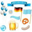 Set of Oktoberfest design elements — Stock Vector #29667941