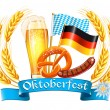 Oktoberfest celebration design — Stock Vector #30168931