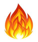 Symbol ohně — Stock vektor